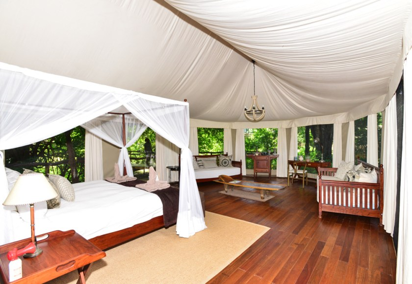 accommodation-tent-safari-mana-pools
