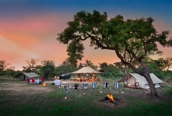 Tanda Tula Field Camp tents