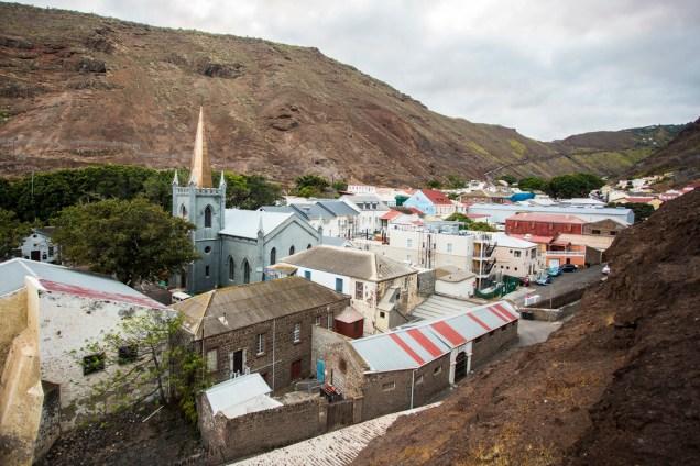 Jamestown on St Helena island