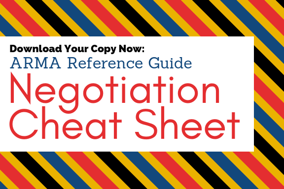 Negotiation Cheat Sheet