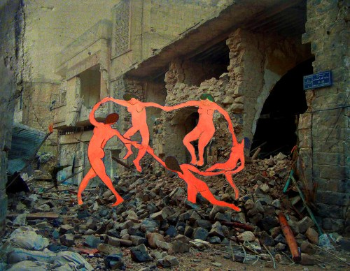 Image result for war - matisse in syria TAP69-Tammam-Azzam-