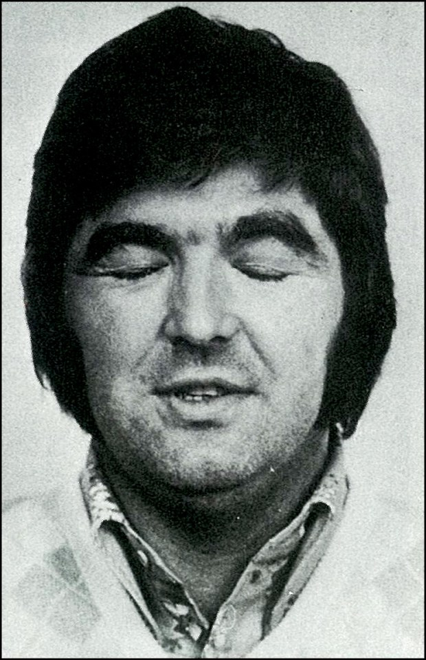 Paddy Mitchell's mug shot, distributed after his escape. Photo: Courtesy of Kevin Mitchell