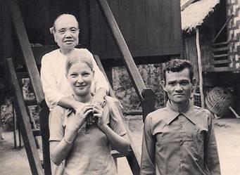 As a teenager in Burma.