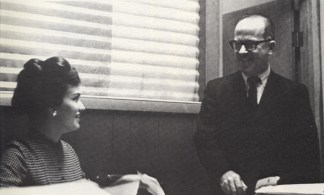Charles Y. Furness with Marjorie Phillips, 1968