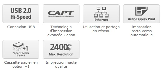 Canon LBP 6310 : la sprinteuse des lasers monochrome