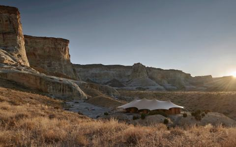 Camp Sarika | Image courtesy of Amangiri