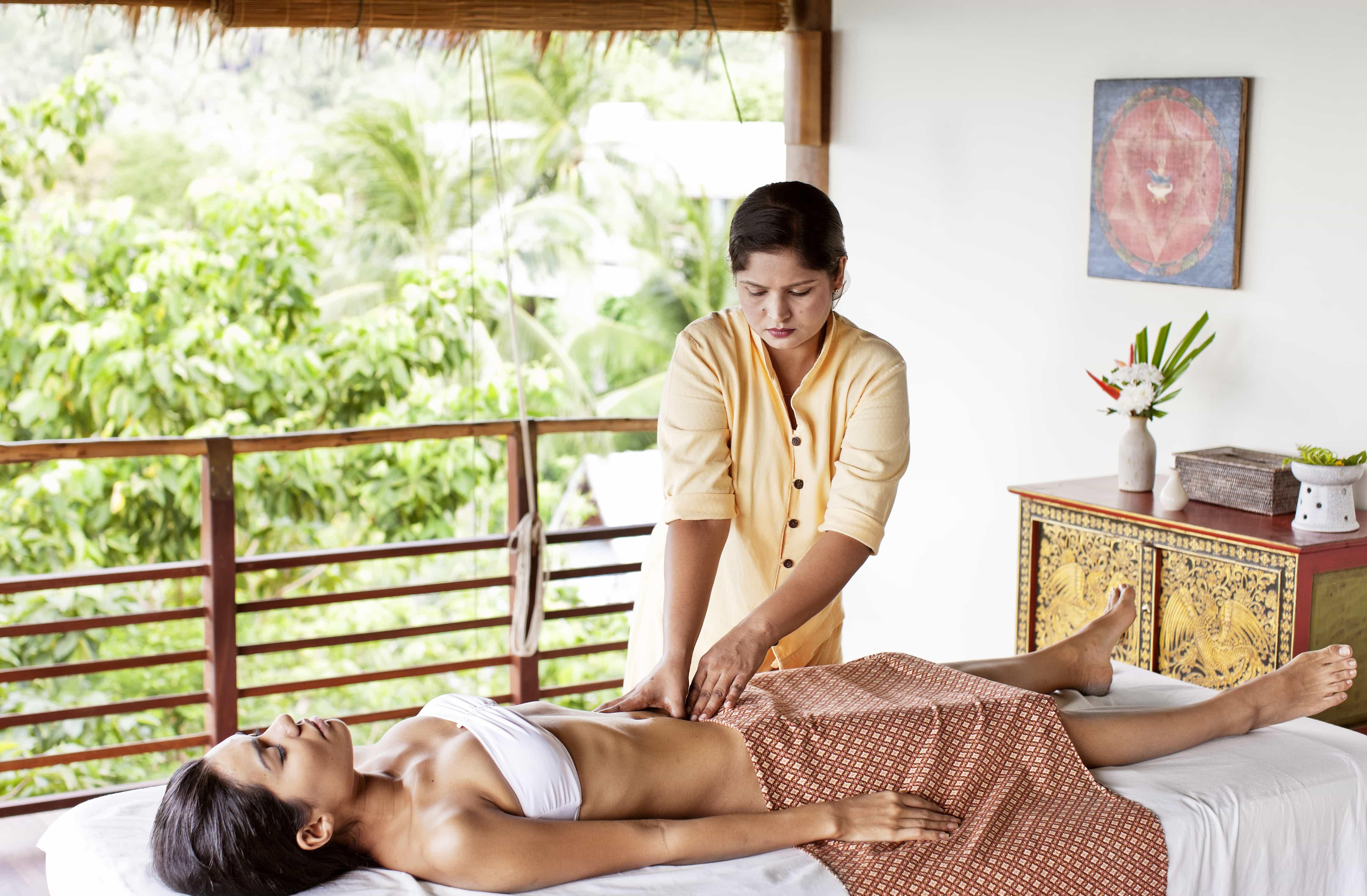 Massage the days away   Image courtesy of Kamalaya