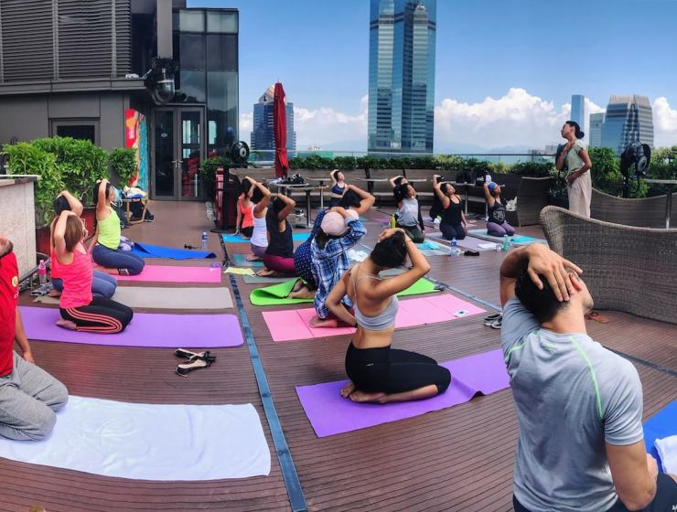 wellness events in hong kong, Pure yoga will yoga surf retreats