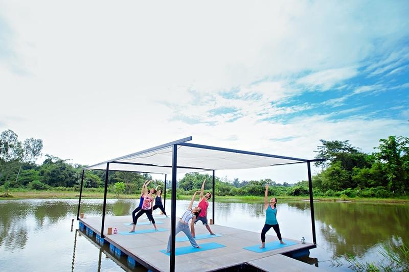 Museflower Retreat & Spa, yoga retreat, thailand retreat,