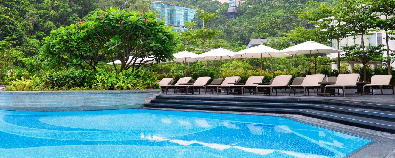 best luxury swimming pools in hong kong