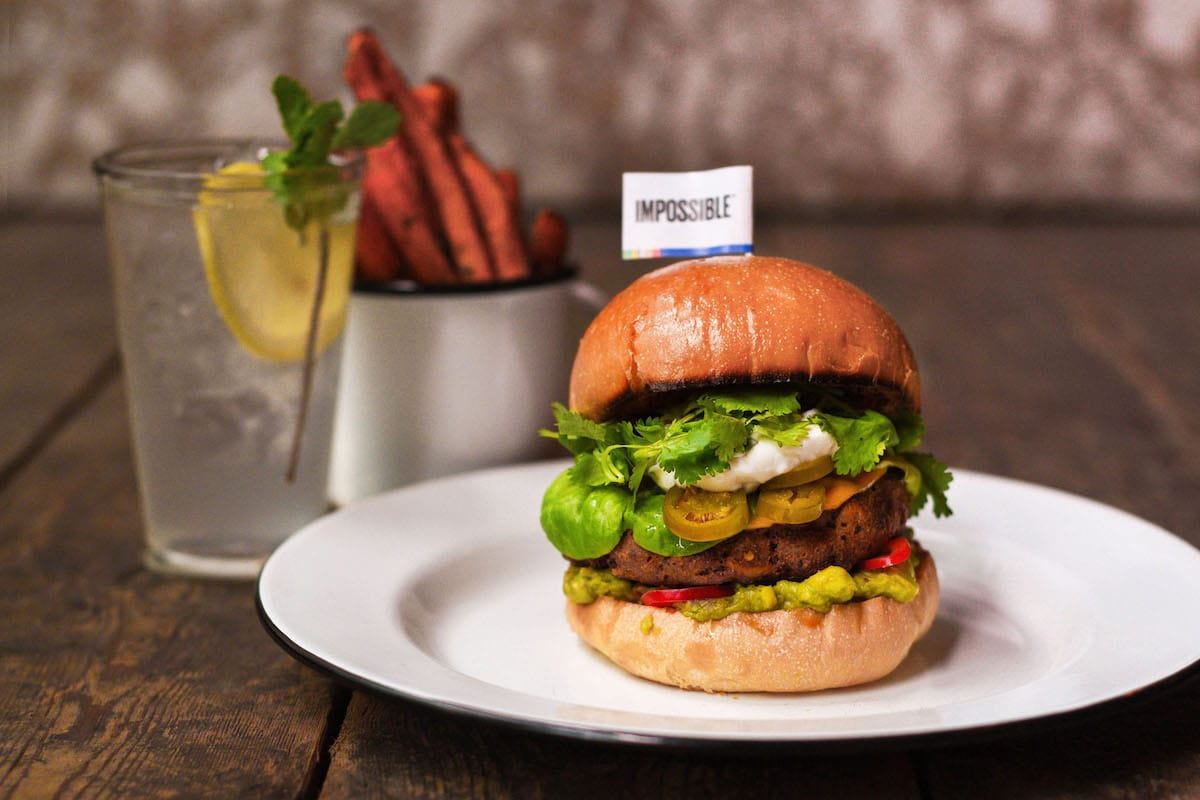 impossible burgers best burgers hong kong sustainable food vegan burgers