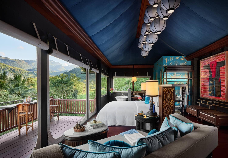 Rosewood Luang Prabang, lao wellness resort, jungle retreat, luxury wellness retreat,
