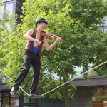Hungarian violinist at Fringe