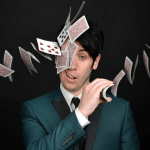 Funny man with more than a few tricks up his sleeve