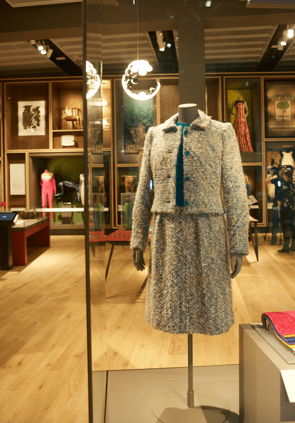 Hardy Amies suit, V&A Dundee