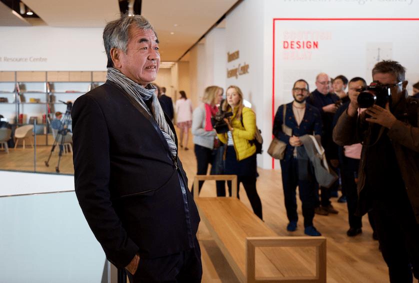 Kengo Kuma, architect, V&A Dundee