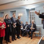Adam Smith's home open for wealth of debate