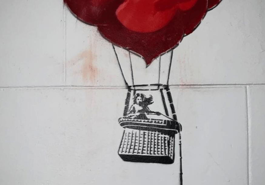 Banksy at Stirling