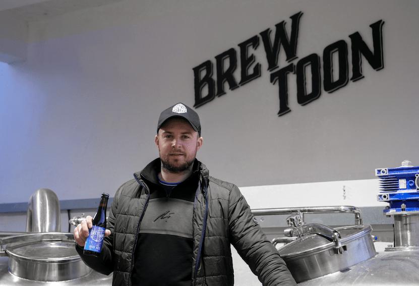 Cameron Bowden Brew Toon