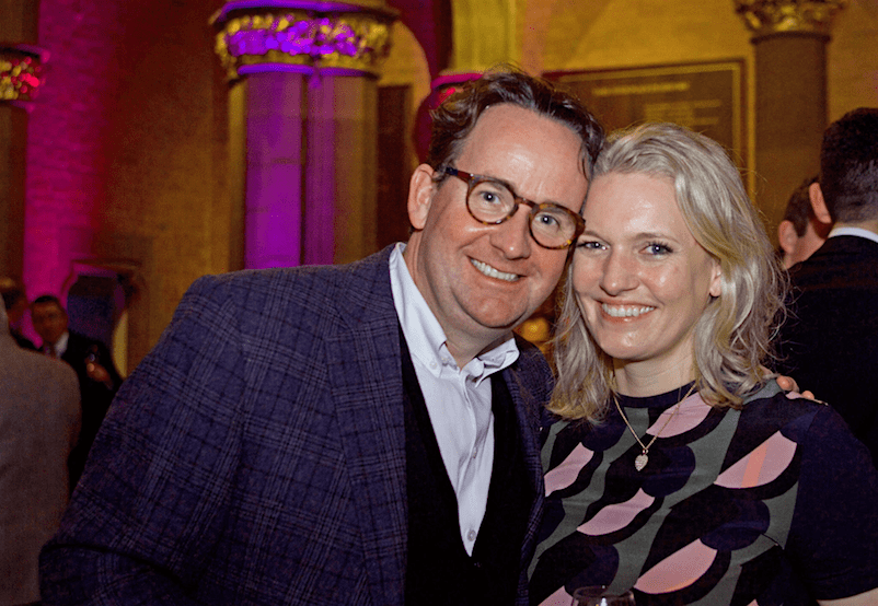 Andrew Wilson and wife Anna