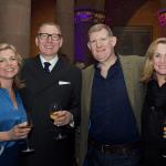 Mel Gray, Benny Higgins, Roger White and Sharon Higgins