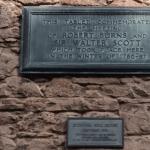 Grange Burns and Scott plaque