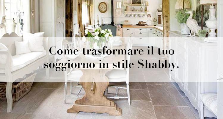 Come trasformare il tuo soggiorno in stile Shabby