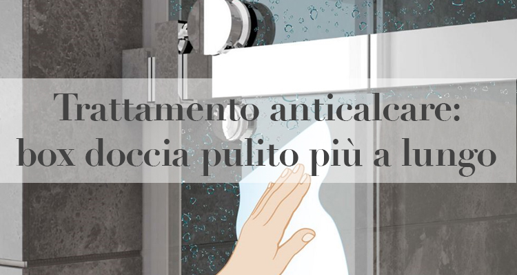 Trattamento Anticalcare Box Doccia Pulito Piu A Lungo