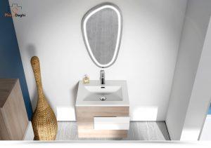 mobile bagno con cassettoni
