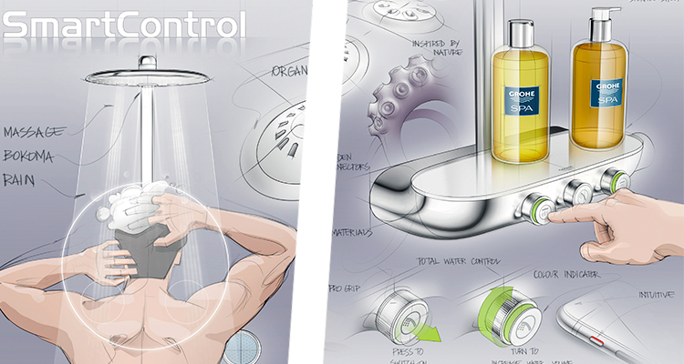 rainshower smartcontrol grohe