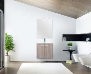 mobile bagno sospeso 60 cm bagno in mansarda