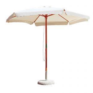 ombrellone palo centrale cortile giardino