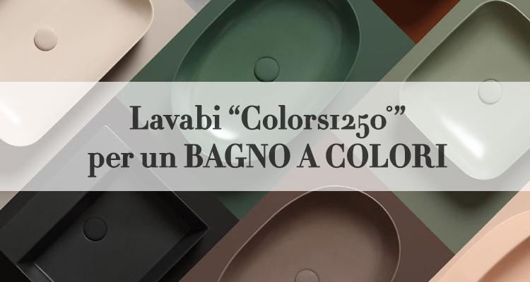 Lavabi Colorati Per Il Bagno Contemporaneo Magazine Deghishop