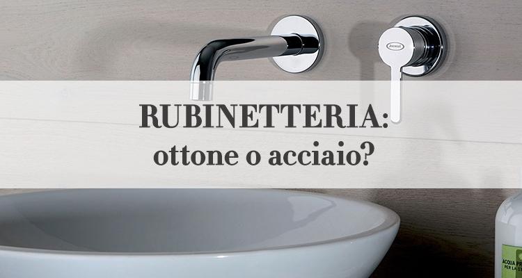 rubinetteria da bagno