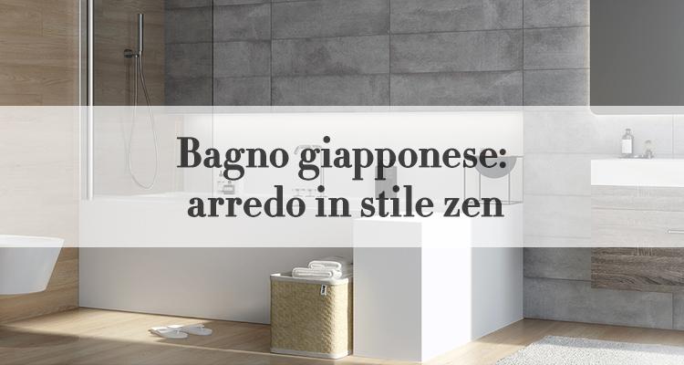 Vasca Da Bagno Giapponese Prezzi : Bagno giapponese: arte zen nellarredo bagno magazine deghishop