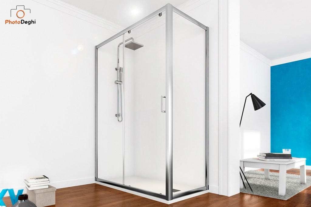 box doccia trasparente