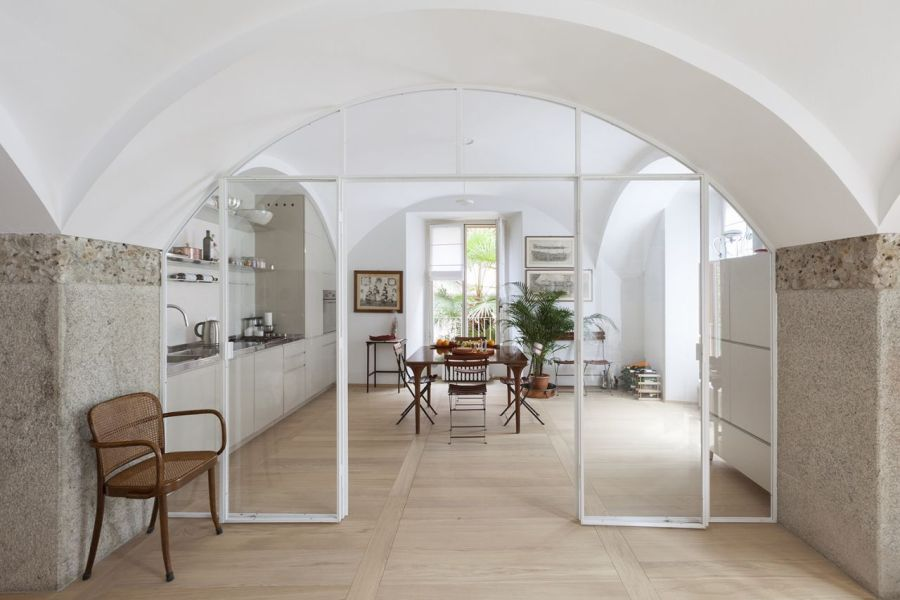 Renovation of an apartment in a period building in Milan