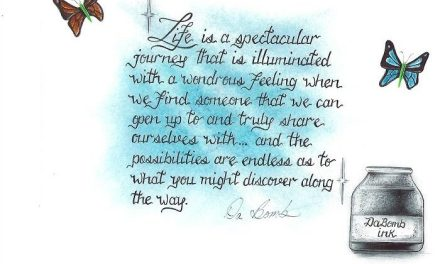 Life is a spectacular journey