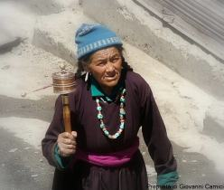 Anziana ladakhi