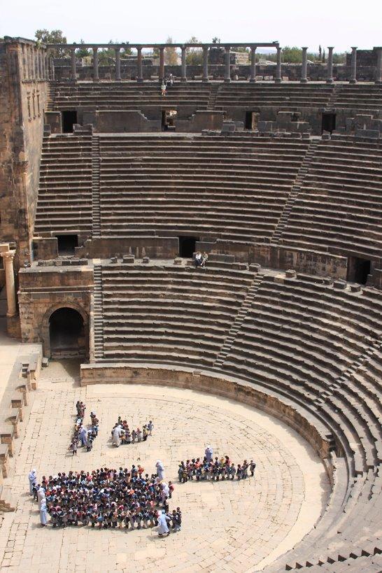 Bosra. Il teatro