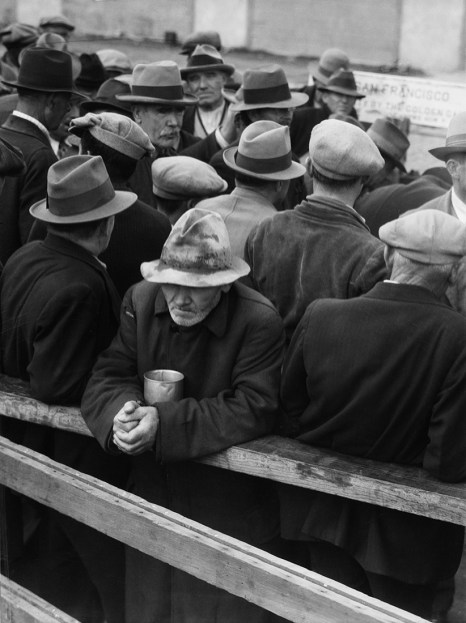 White Angel Breadline, San Francisco 1933 Dorothea Lange © The Dorothea Lange Collection, the Oakland Museum of California, City of Oakland. Gift of Paul S. Taylor