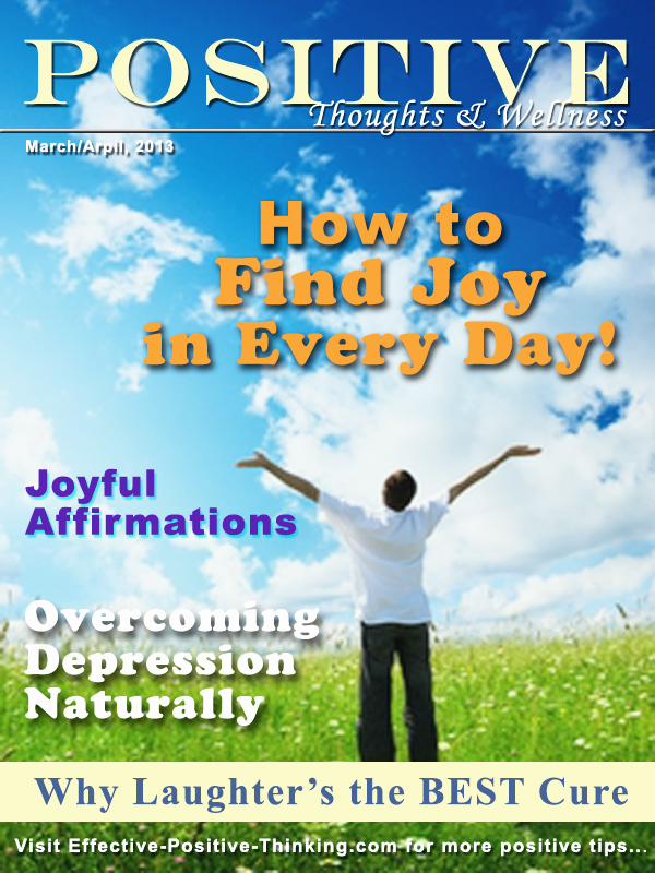 Positive Thoughts And Wellness March April 2013 Issue
