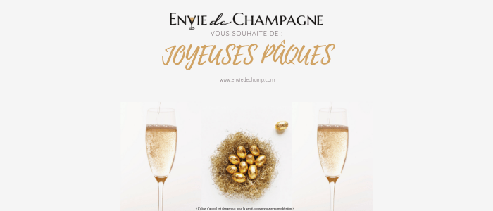 Champagne et chocolat à déguster