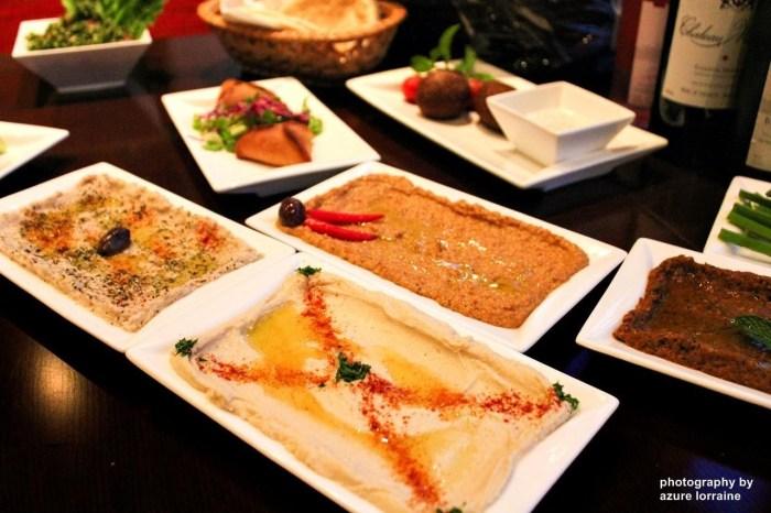 Zahrabel's Mezze platter