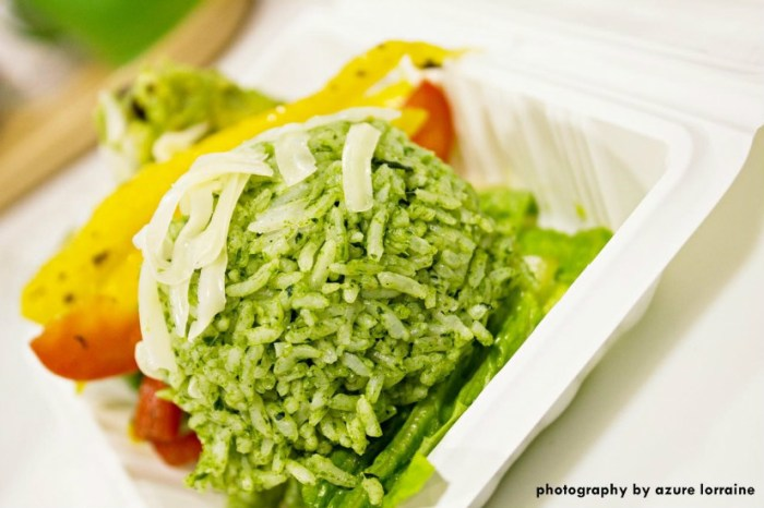 Iron-rich Spinach rice