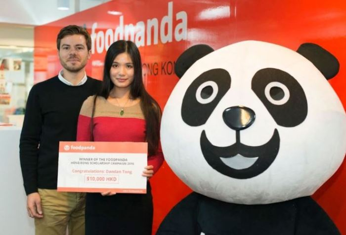 Winner of the foodpanda Scholarship