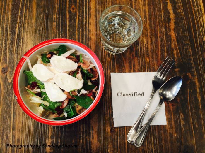 Classified salad