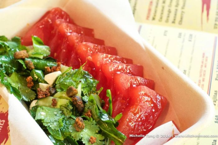boomshack watermelon salad