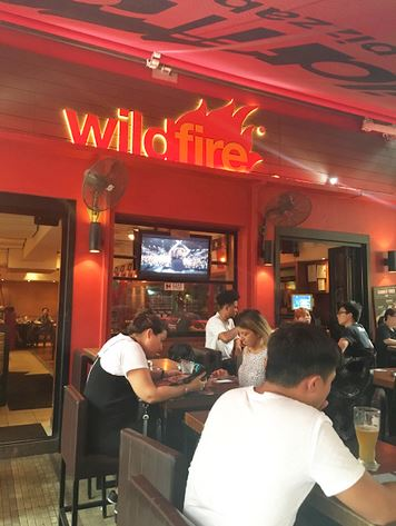 wild fire happy hour hong kong