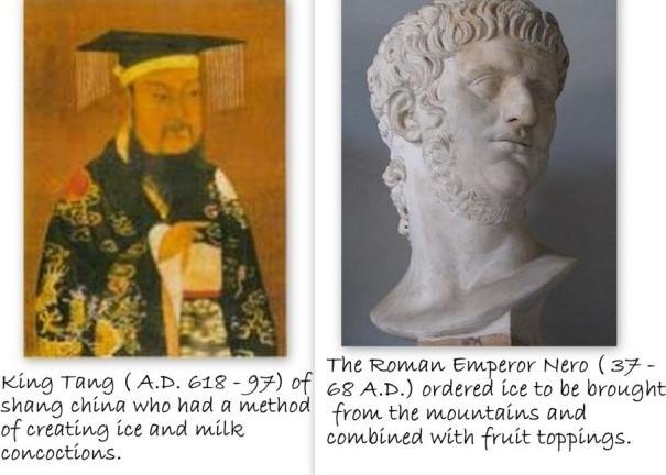 Origin of Ice Cream